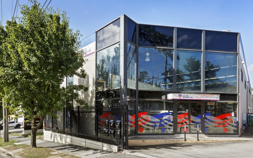HIGH PROFILE OFFICE WAREHOUSE WITH MAIN ROAD EXPOSURE IN THE HEART OF NUNAWADING